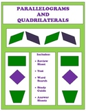 Parallelogram and Quadrilaterals Pack