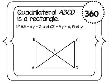 Parallelogram and Rectangle Scavenger Hunt