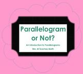 Parallelogram or Not