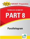Parallelograms - 22 pages 140 questions with answer key