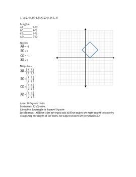 Parallelograms Activity