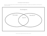 Parallelograms Graphic Organizer