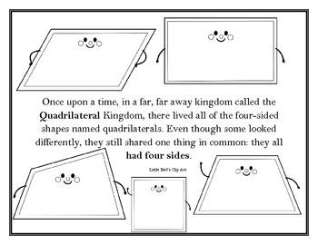 Parallelograms Properties Fairy Tale