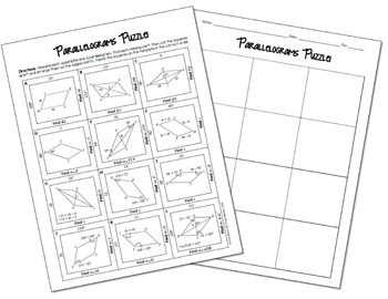 Parallelograms Puzzle
