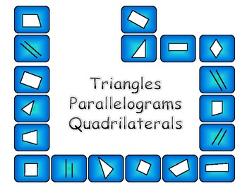 Parallelograms, Quadrilaterals, Triangles