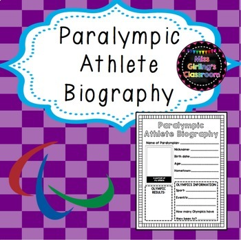 Paralympic Athlete Biography