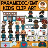Paramedic & EMT Kids l Community Helpers Clipart l TWMM Clip Art