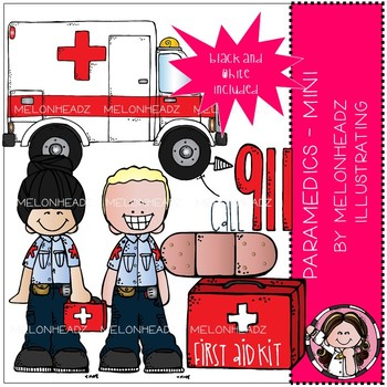 Paramedics clip art - Mini - by Melonheadz