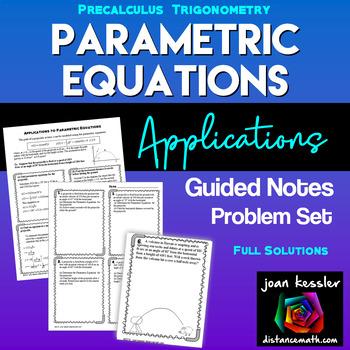 Parametric Equations Applications