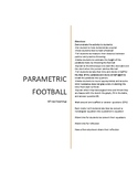 Parametric Football Activity