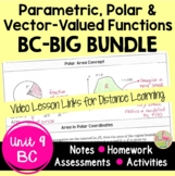Parametric Polar and Vector-Valued Functions BIG Bundle  (