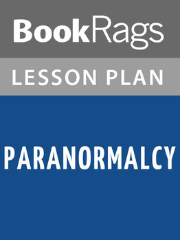 Paranormalcy Lesson Plans