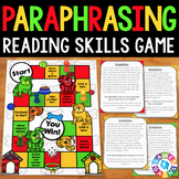 Paraphrasing Activity: Paraphrasing Text Reading Game