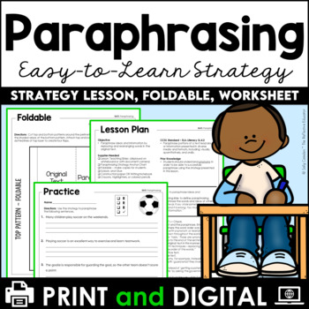 Paraphrasing: A Writer's Craft Lesson