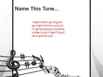 Paraphrasing Popular Songs