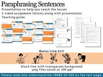 Paraphrasing Sentences