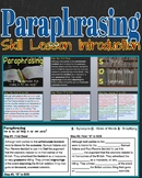 Paraphrasing Skill Lesson