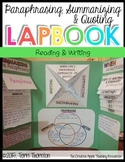 Paraphrasing, Summarizing and Quoting Lapbook