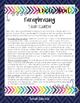 Paraphrasing Task Cards
