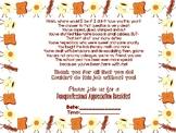 Paraprofessional Appreciation Breakfast Invite