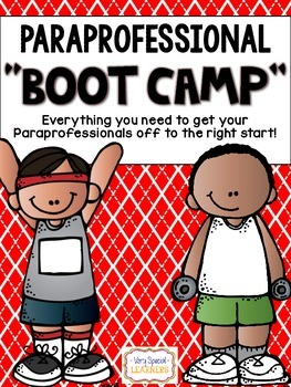 "Paraprofessional ""BOOT CAMP""- A Handbook for Paraprofessionals {Editable}"