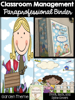 Paraprofessional Binder Covers