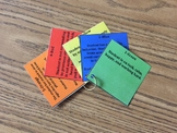 Paraprofessional Color Coded Response to Behavior Key Ring