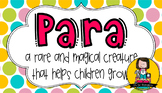 Paraprofessional Gift Tag | Magical