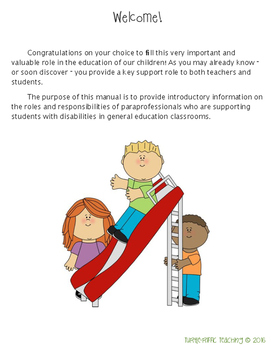 Paraprofessional Guide to the Special Education Classroom