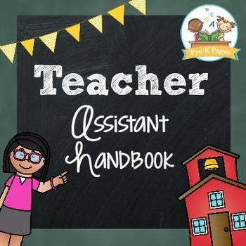 Paraprofessional Handbook: Training Manual for Teacher Assistants
