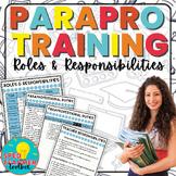 Paraprofessional Training: Roles & Responsibilities