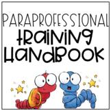 Paraprofessional Training Handbook