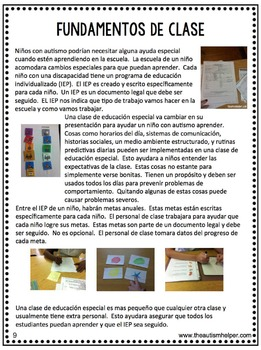 Paraprofessional Training Manual {EN ESPANOL}