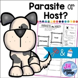 Parasite or Host? Cut and Paste Sorting Activity
