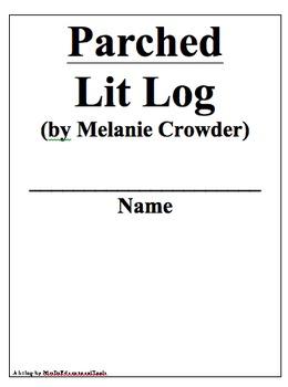 Parched Lit Log
