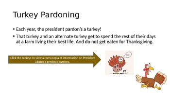 Pardon me, Mr. President! Thanksgiving Persuasive Writing