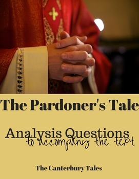 Pardoner's Tale Analysis Questions