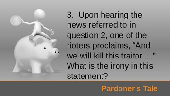 Pardoner's Tale Quiz - Animated ppt