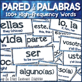 Pared de Palabras High-Frequency Spanish Word Wall for Com