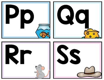 Pared de Palabras (Word Wall Headers & Editable Word Wall Cards) PASTEL