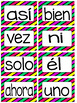 Pared de Palabras-Word Wall- High Frequency Words in Spanish