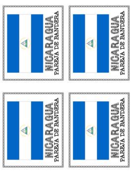 Pareja de Bandera Grouping Cards