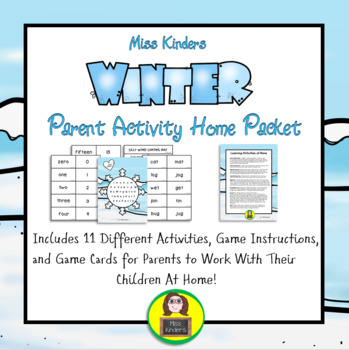 Parent Activity Home Packet Winter