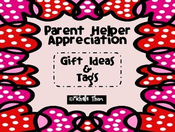 Parent Appreciation {Gift Ideas & Tags}