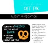 Parent Appreciation Gift Tag