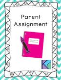 Parent Assignment