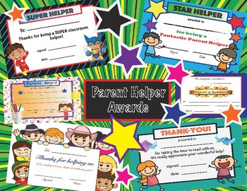 Parent Awards- Assorted Package
