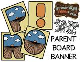 Parent Board Banner: Harvest Sun