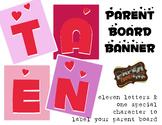 Parent Board Banner: Hearts Abound