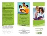 Parent Brochure: Encouraging Literacy at Home